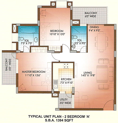 how to find the floor space of a floor plan